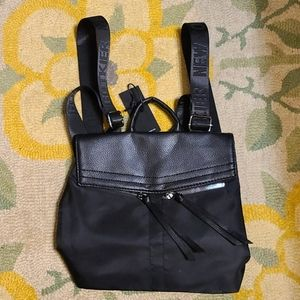Botkier leather flap mini backpack